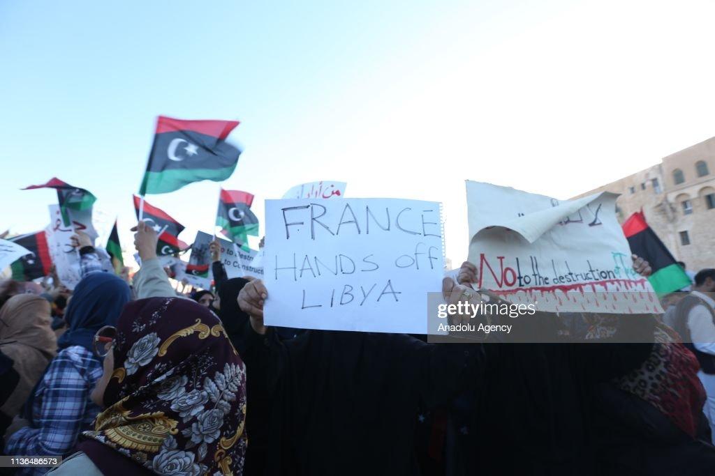 Protest in Tripoli : News Photo