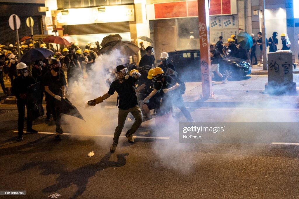 Hong Kong Protest : ニュース写真