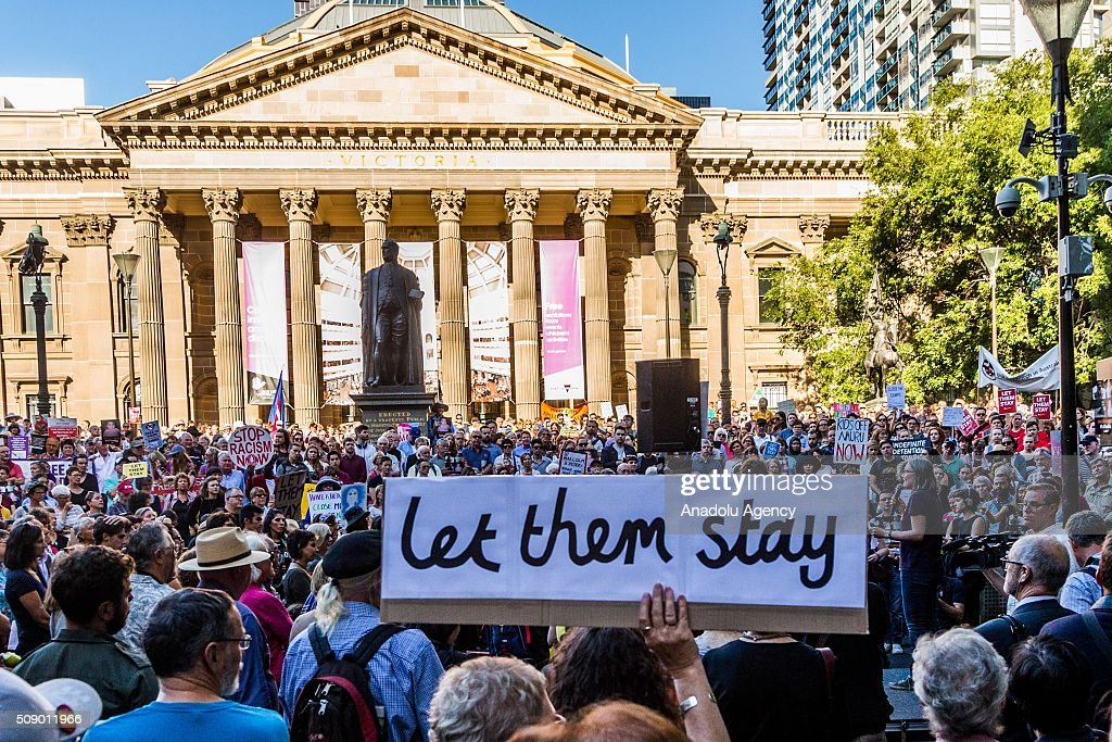 Protest in Australia : News Photo