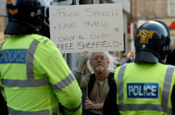 G8 Protest - Winter Gardens Pictures | Getty Images