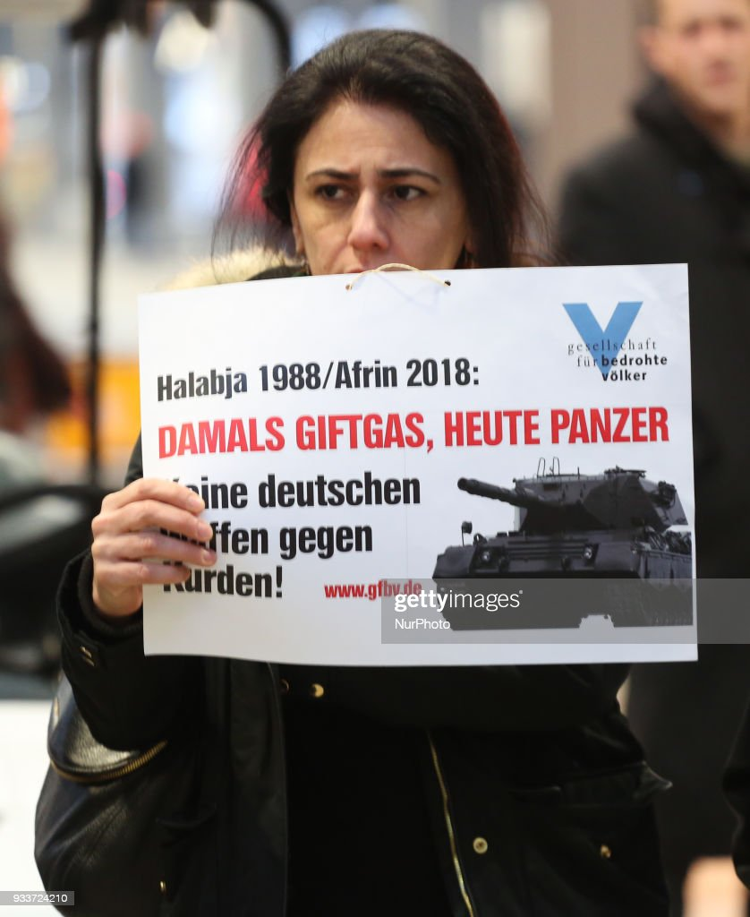 Protest for Afrin in Munich