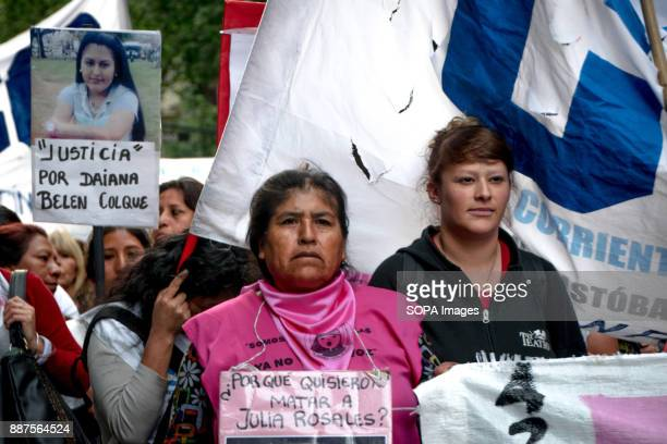 Protestors demand justice for murdered Argentine women Marching from the nation's iconic Congreso buildings to Plaza De Mayo these women are...