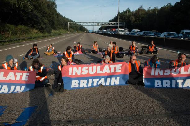 GBR: Insulate Britain Continue Road Block Protests