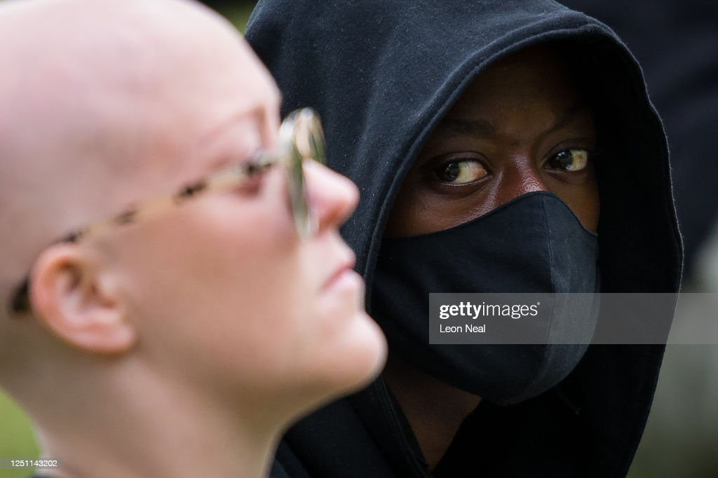 Anti-Racism Protests Take Place Across The UK : News Photo