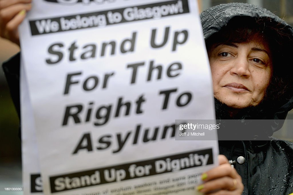 Demonstration Against Home Office Campaign 'Go Home' : News Photo