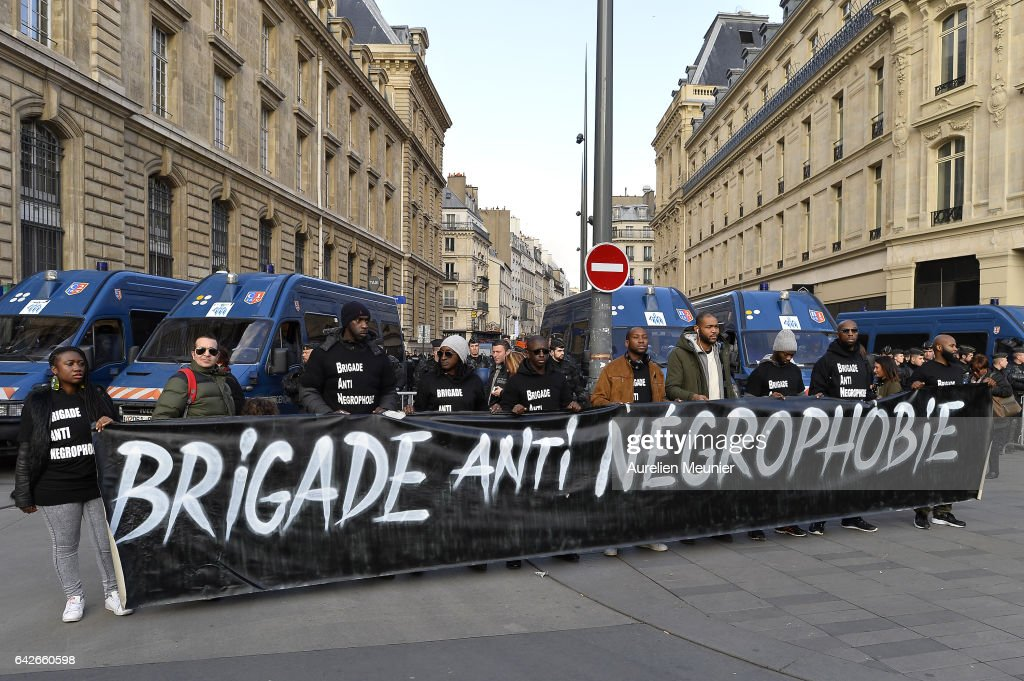 Demonstration Against Police Brutality In Paris : News Photo