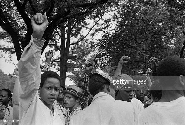 Protestors in Washington, DC, during the Poor People's Campaign, 1968.