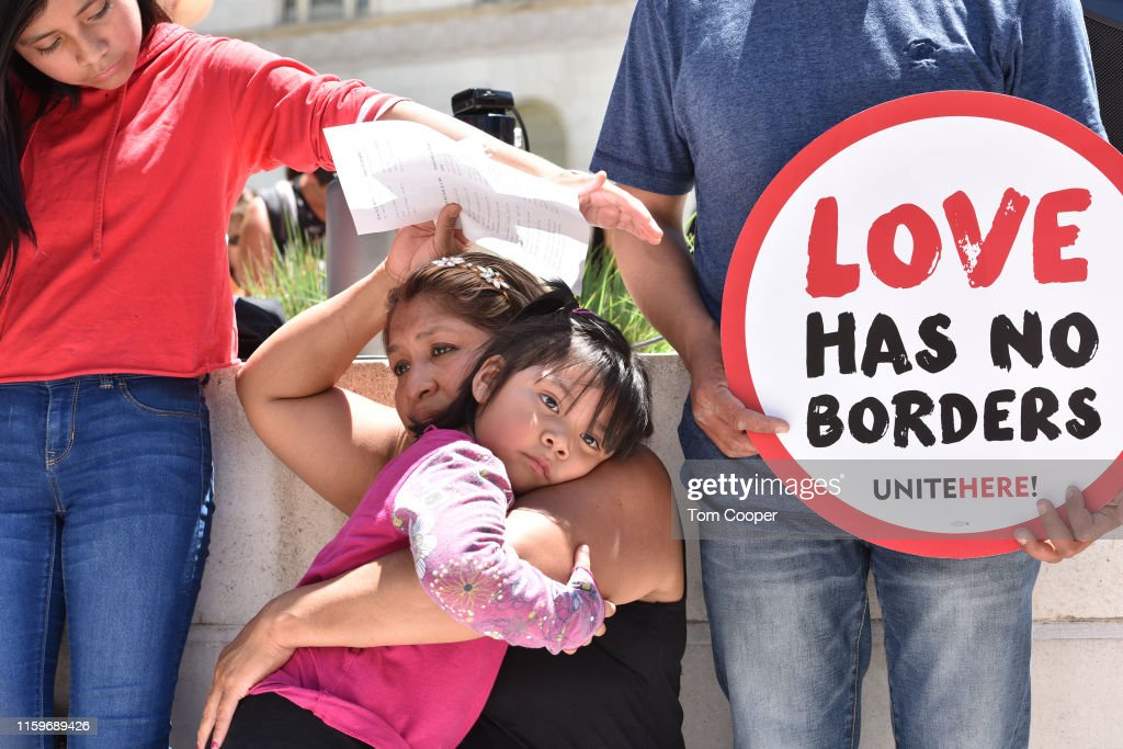 #CloseTheCamps: MoveOn, United We Dream, American Friends Service Committee, And Families Belong Together Lead Protests Across Country : News Photo