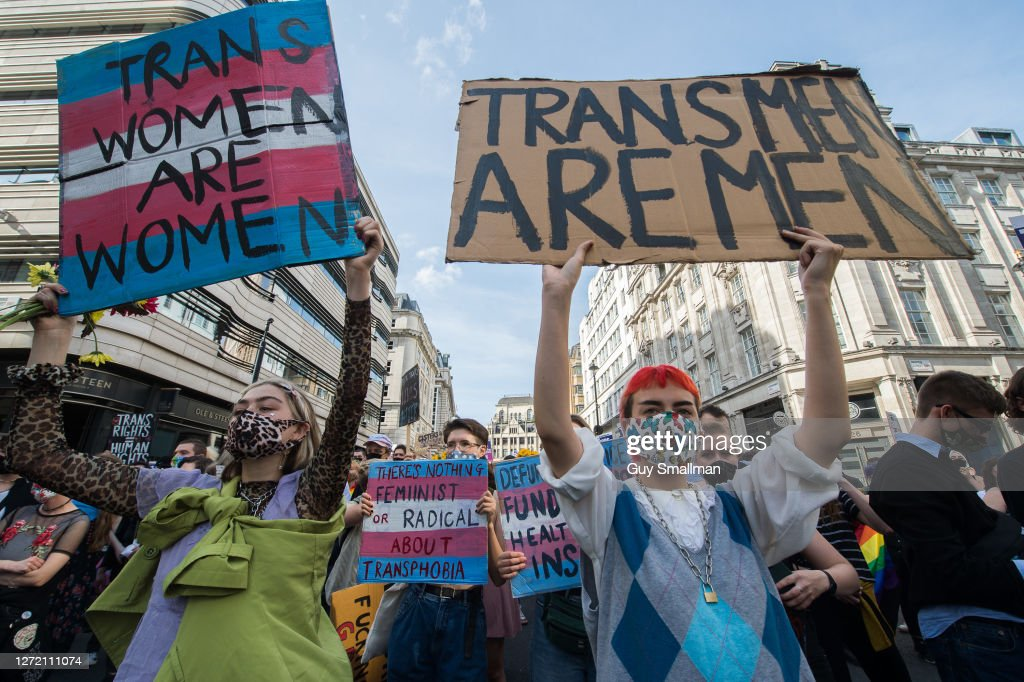 London Holds Second Ever Trans Pride March : News Photo