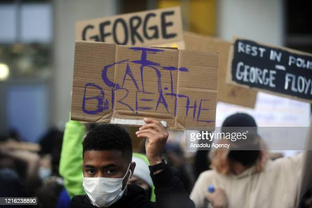 Protestors showed up in downtown Oakland to show solidarity with the protestors following the death of George Floyd in Minneapolis, Minnesota on May...