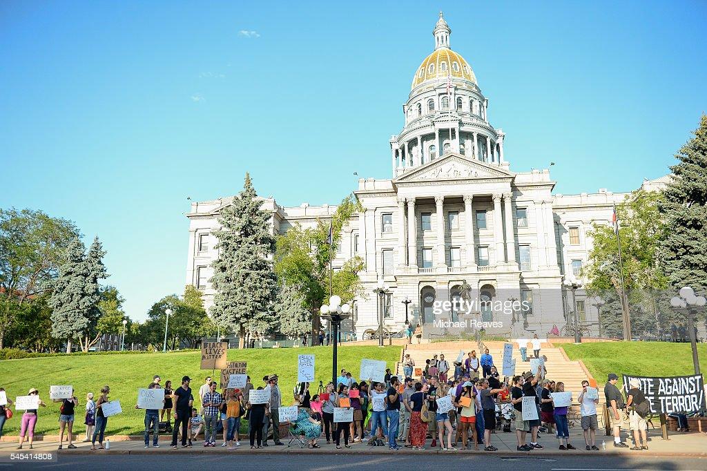 Black Lives Matter protest : News Photo