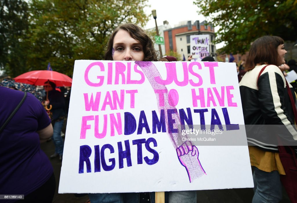 Rally For Choice Protest March Takes Place In Belfast : News Photo