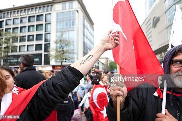 Protest gegen türkische Regierung