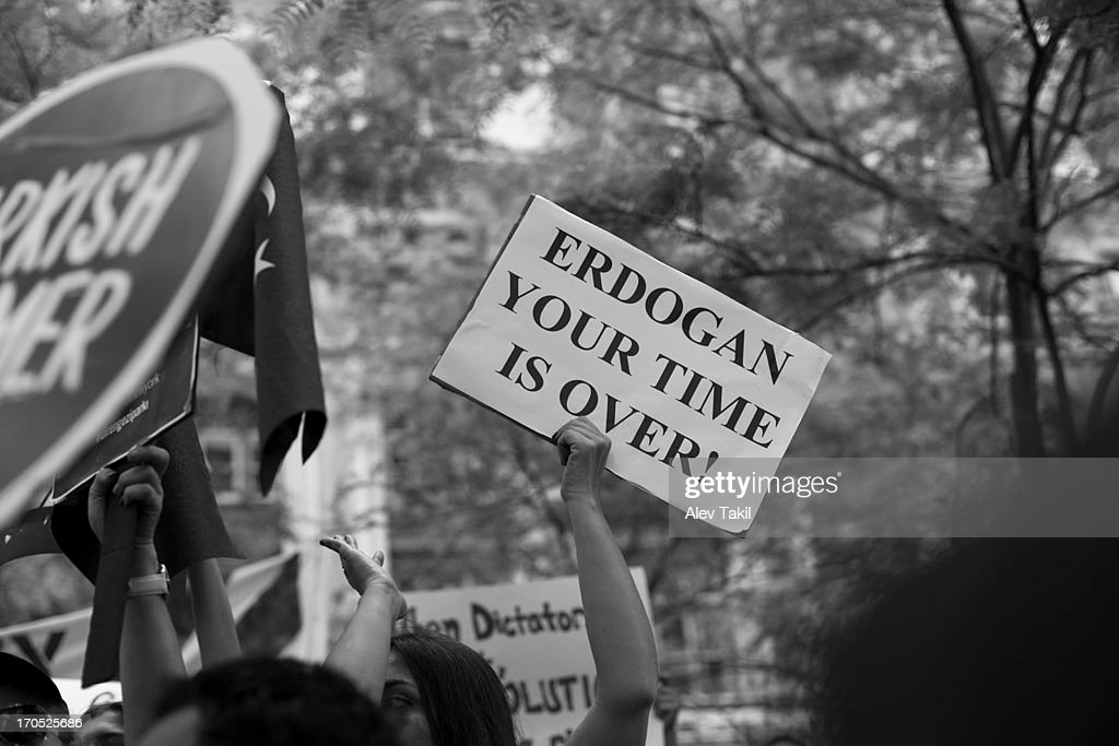 Erdogan, Your Time Is Over : News Photo