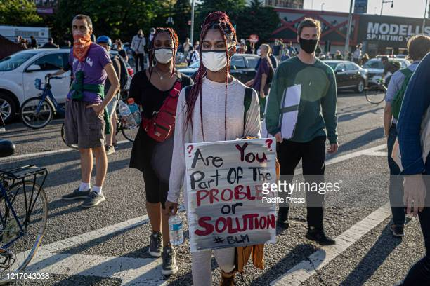 Protests broke out across New York City as thousands of demonstrators called for justice for George Floyd and other victims of police violence Over...