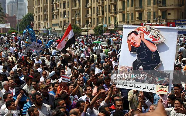 Protests continue in Tahrir Square, Cairo, Egypt, on the 20th of May as tens of thousands gather.