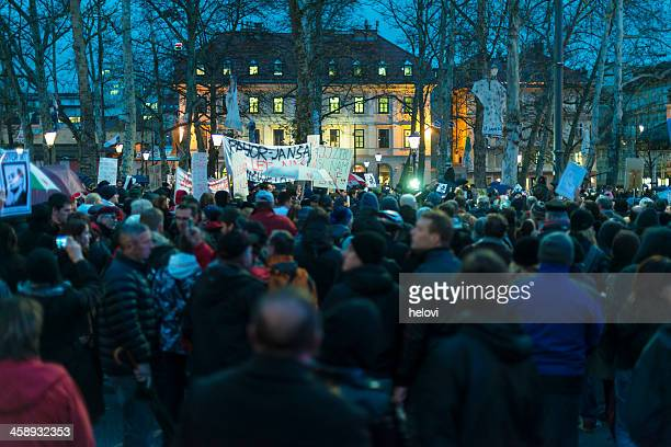 Protests in Slovenia