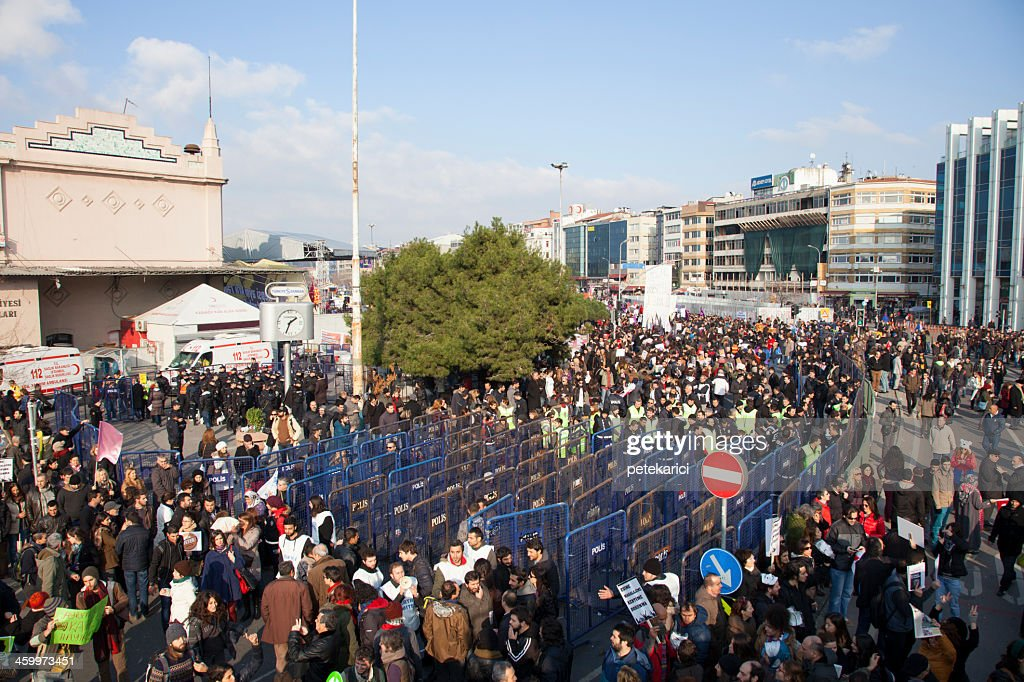 Protests in Turkey : Stock Photo