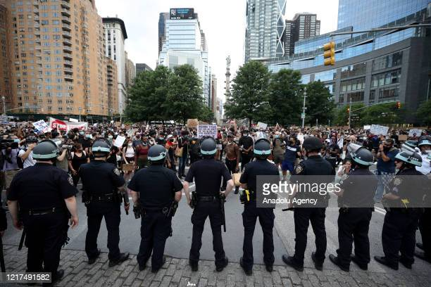 Protests over the death of George Floyd an unarmed black man who died after being pinned down by a white police officer in Minneapolis continue on...