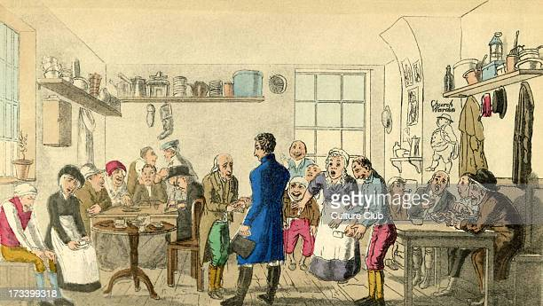 'Proteus visiting 'Comical Dick' in the Workhouse an actor of great celebrity at one period of his life 'Last scene of all/ That ends this strange...