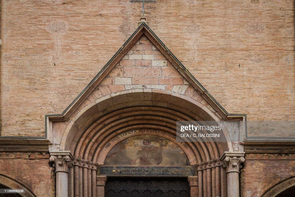 Prothyrum of the Basilica of San Giacomo Maggiore Bologna,... News ...