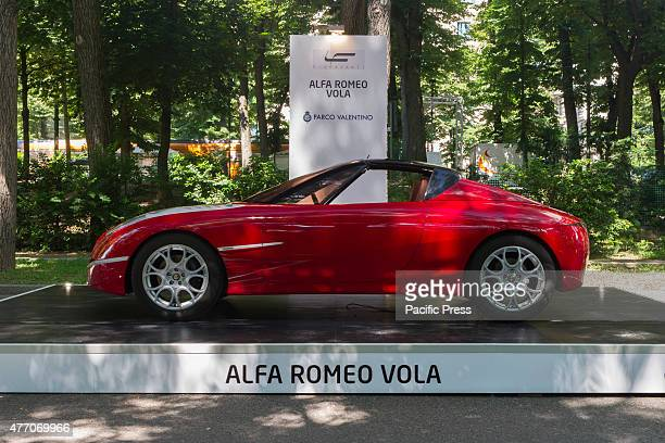 Prototype car Alfa Romeo Vola by Fioravanti Parco Valentino car show hosted 93 cars by many automobile manufacturers and car designers inside...