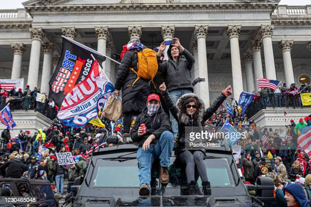 Pro-Trump supporters and far-right forces flooded Washington DC to protest Trump's election loss. Hundreds breached the U.S. Capitol Building,...