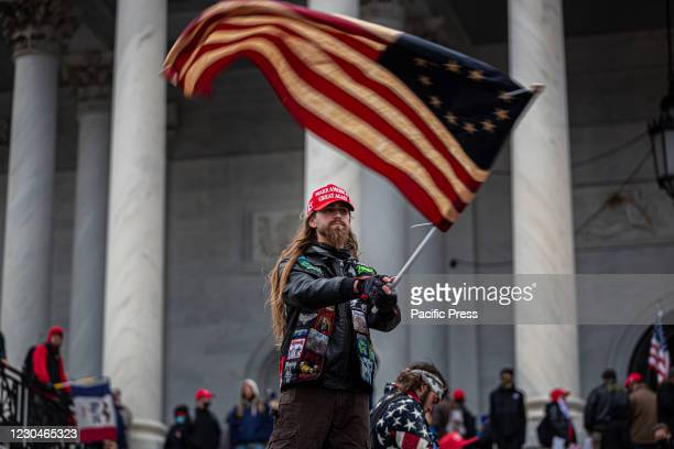 Pro-Trump supporters and far-right forcesflooded Washington DC to protest Trump's election loss. Hundreds breached the U.S. Capitol Building,...