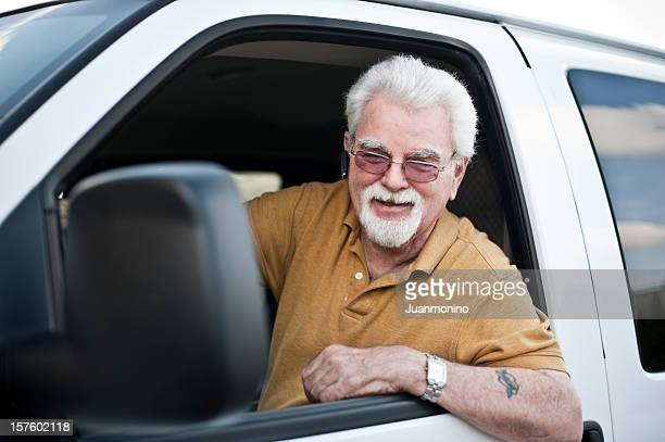 Proud driver