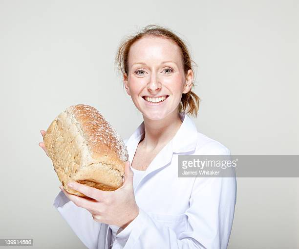 Proud Female Baker