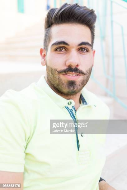 proud of my mustache - jordanian workforce stock pictures, royalty-free photos & images