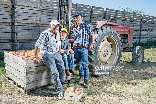 Proud three generations