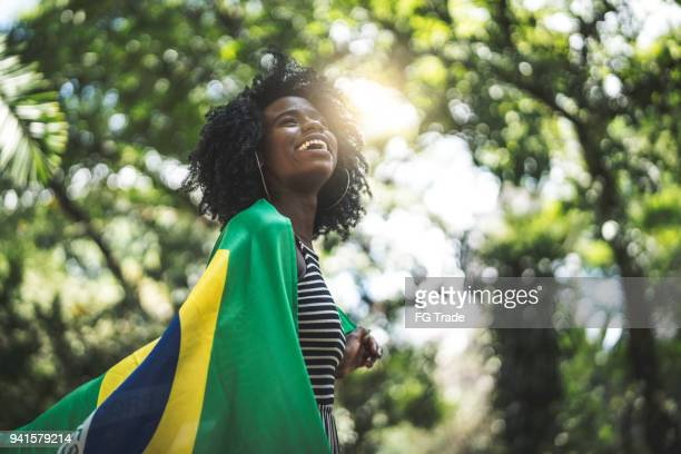 proud to be brazilian - brasil stock pictures, royalty-free photos & images
