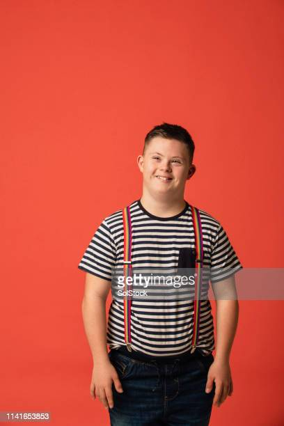 proud to be me - down syndrome stock pictures, royalty-free photos & images
