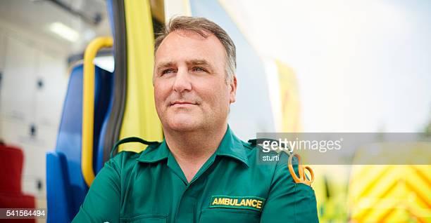 proud uk paramedic