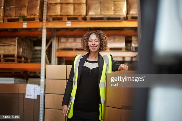 proud warehouse manager