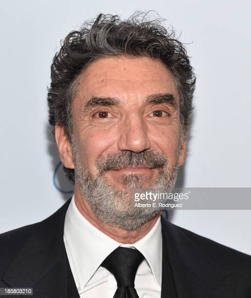 Proudcer Chuck Lorre arrives to the 2013 UCLA Neurosurgery Visionary Ball at the Beverly Wilshire Four Seasons Hotel on October 24 2013 in Beverly...