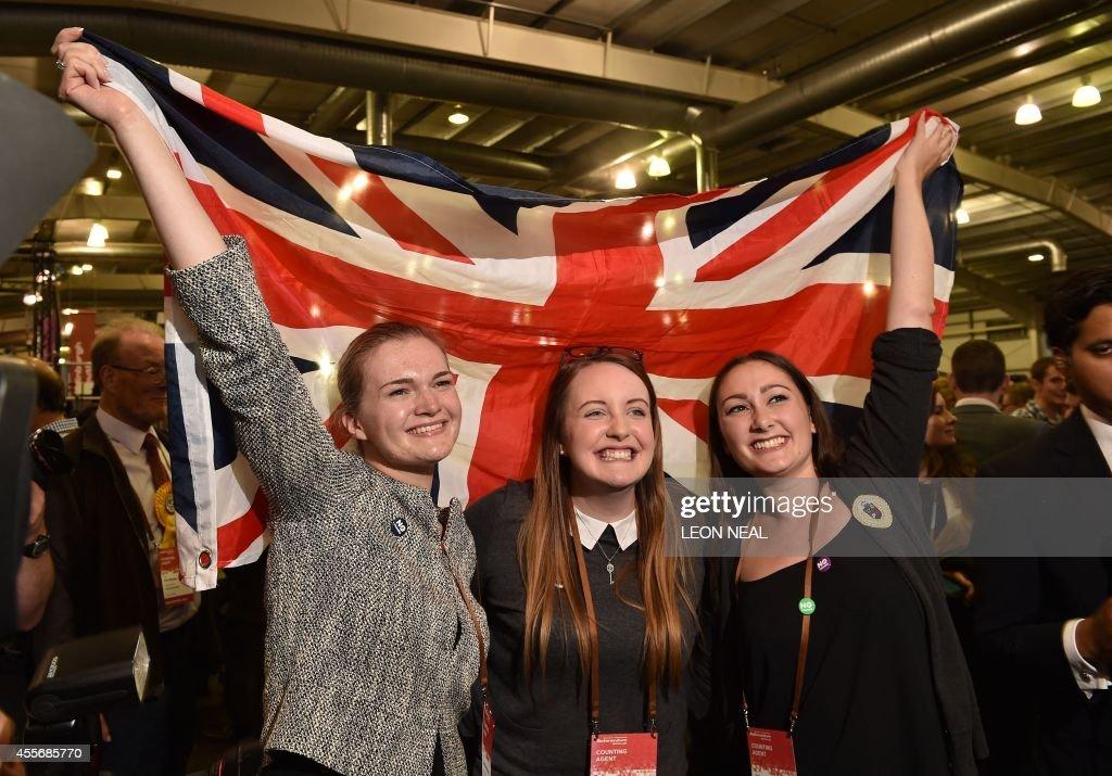 BRITAIN-SCOTLAND-INDEPENDENCE-VOTE : Foto di attualità