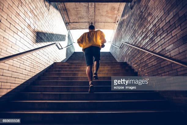 prove it to yourself - stairs stock photos and pictures