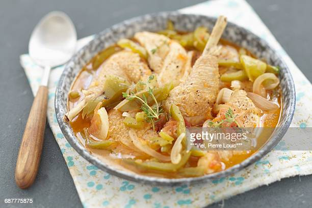 Provenal-style chicken
