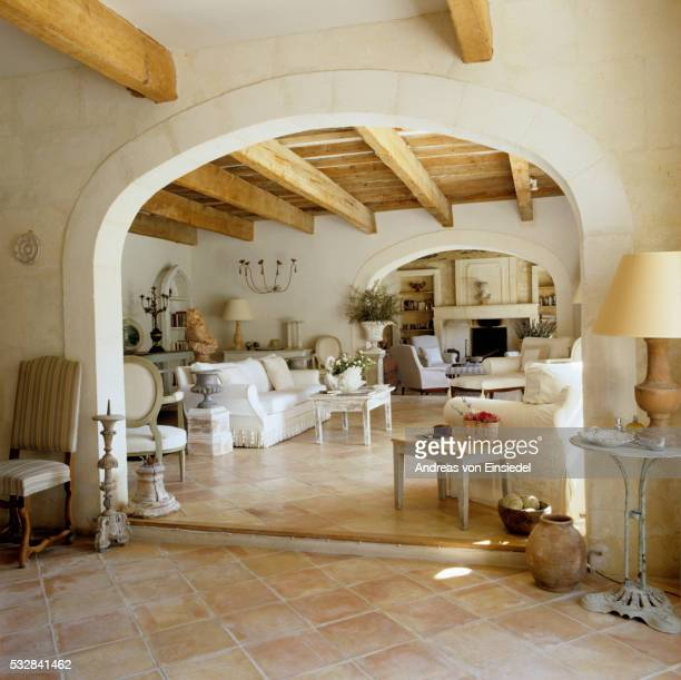 provencal barn renovation - terracotta stock pictures, royalty-free photos & images