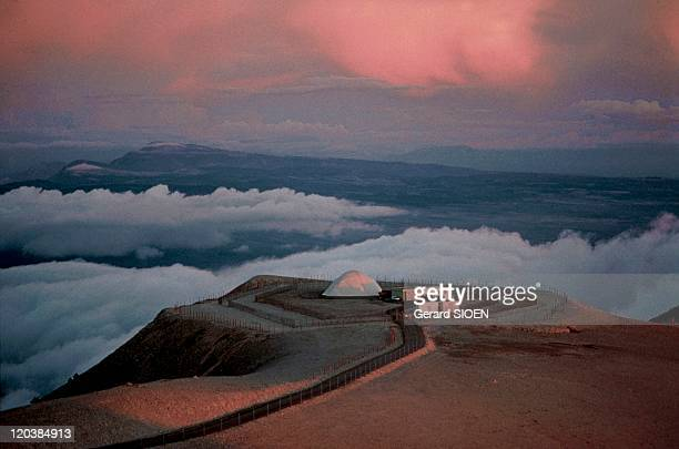 Provence Mount Ventoux in France The summit of this Mount