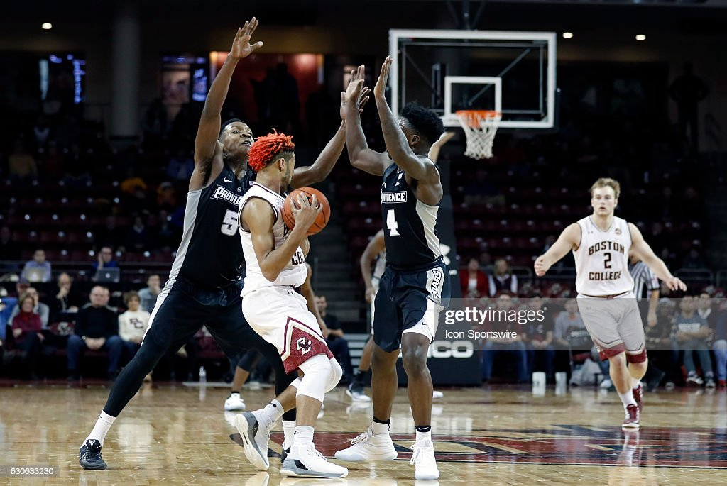NCAA BASKETBALL: DEC 23 Providence at Boston College : News Photo