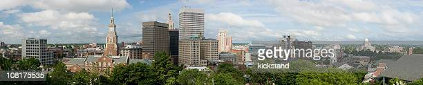 providence downtown panorama - rhode island stock pictures, royalty-free photos & images