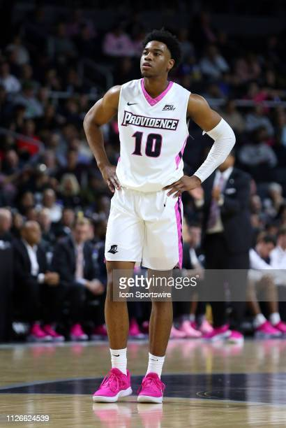 Providence Friars guard AJ Reeves during a college basketball game between St John's Red Storm and Providence Friars on February 20 at the Dunkin...