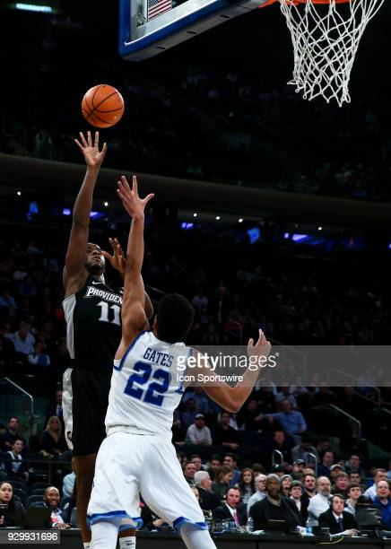 Providence Friars guard Alpha Diallo puts up a shot during the Mens College Basketball Big East Tournament Semifinal Game betweenthe Providence...