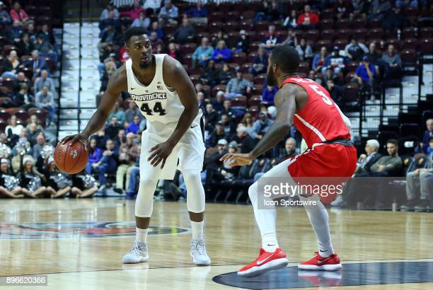 Providence Friars guard Isaiah Jackson and Houston Cougars guard Corey Davis Jr during a college basketball game between Houston Cougars and...