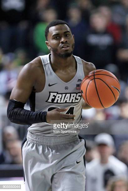 Providence Friars guard Kyron Cartwright with the ball during a college basketball game between Butler Bulldogs and Providence Friars on January 15...