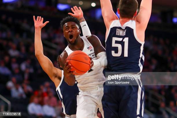 Providence Friars guard Maliek White during the second half of the Big East Tournament First Round College Basketball game between the Providence...
