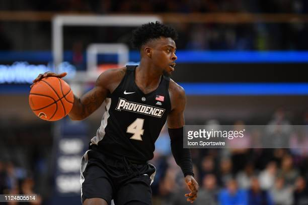 Providence Friars guard Maliek White in action during the college basketball game between the Providence Friars and the Villanova Wildcats on...